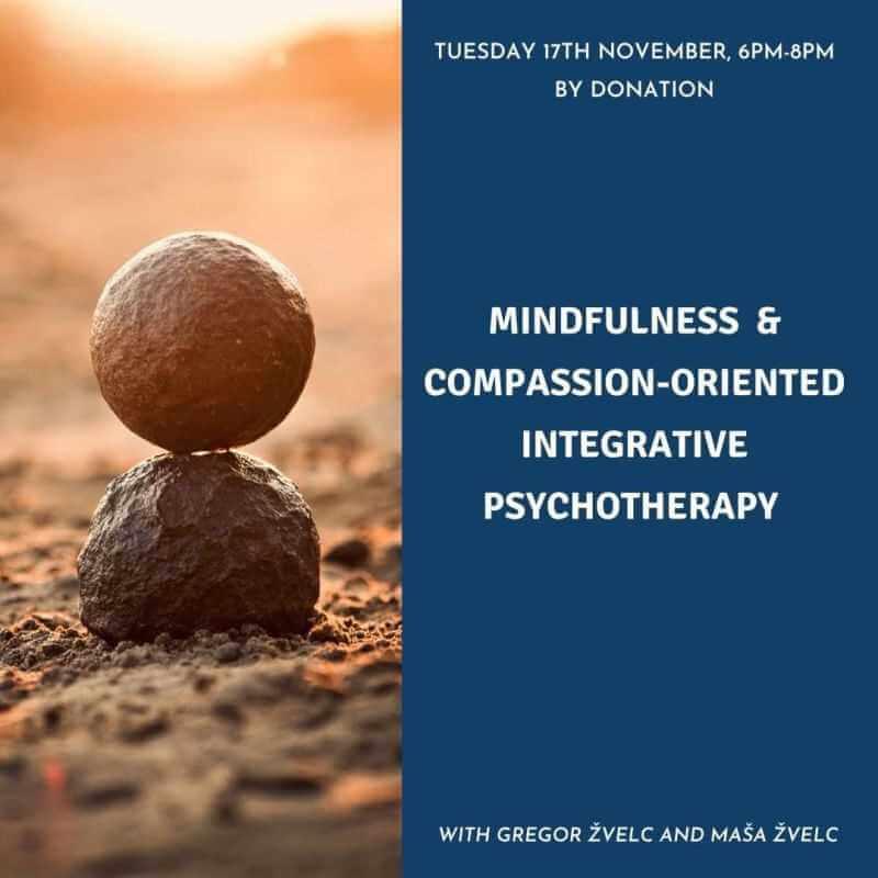 Na čuječnost in sočutje usmerjena integrativna psihoterapija